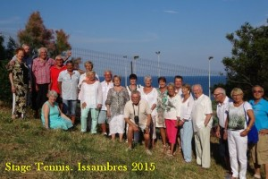 Stage Tennis. Issambres 2015