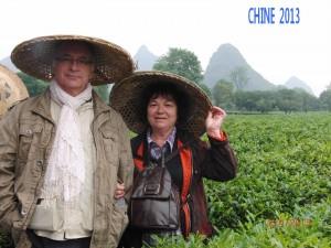 Les responsables: Marie-Andrée et Gérard Deschamps